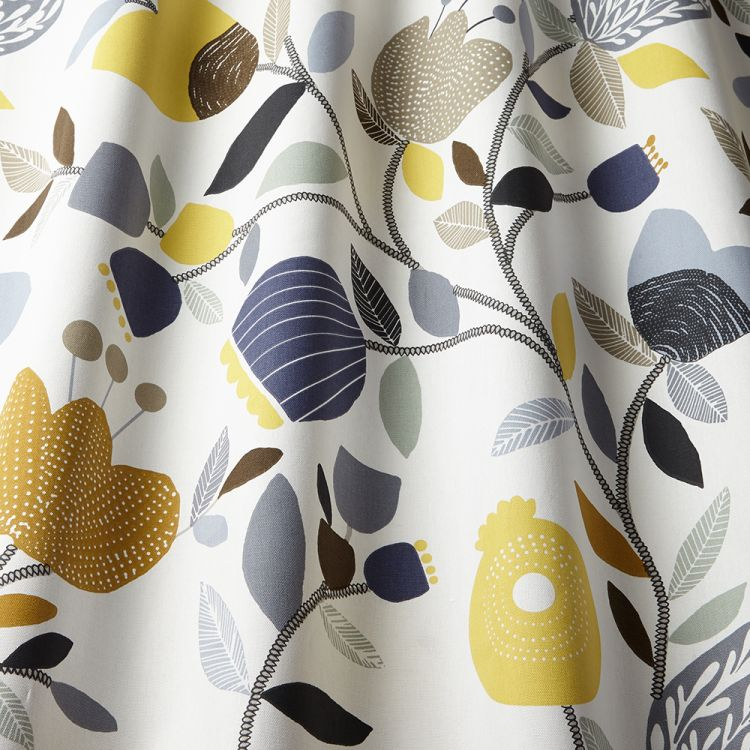 Pomegranate Trail Modern Floral 100 Cotton Made To