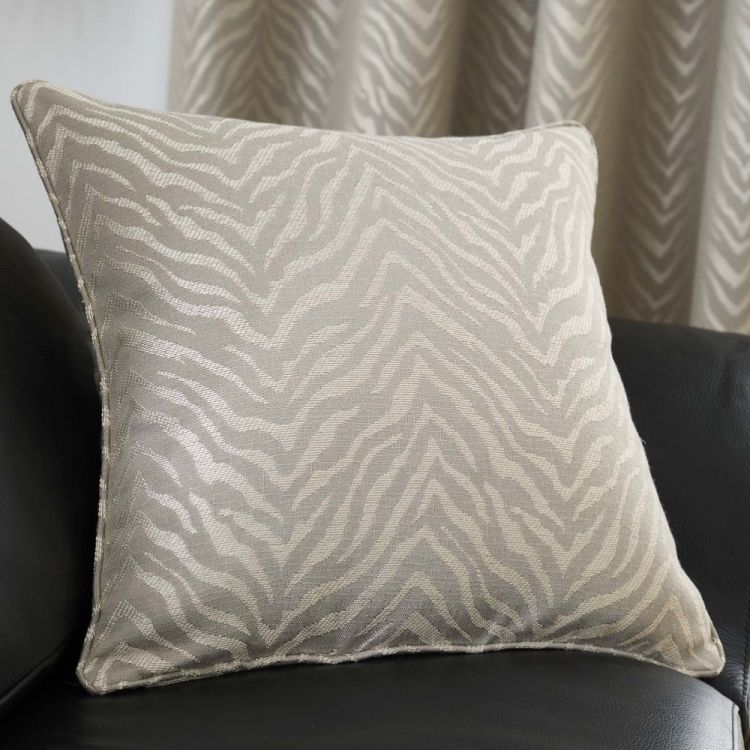 Africa Textured Cushion Cover Stone Natural Tonys