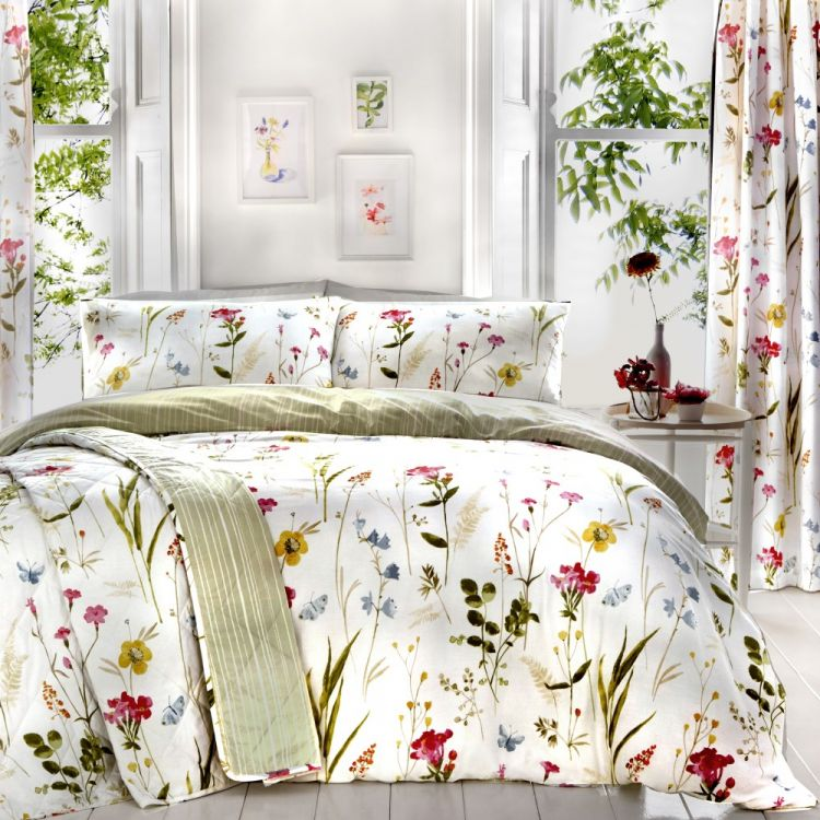 Spring Glade Floral Duvet Cover Set Multi Tonys