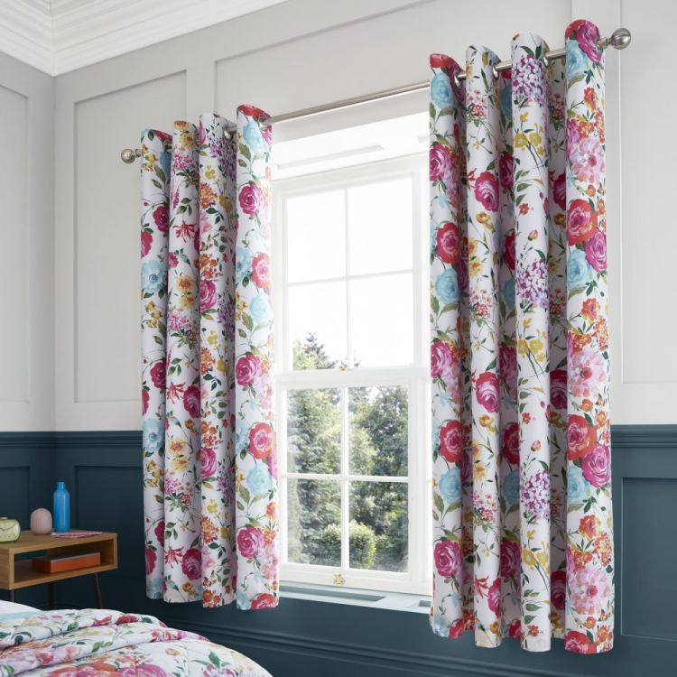 Catherine Lansfield Salisbury Floral Fully Lined