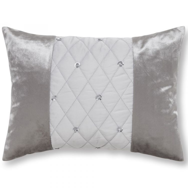 Catherine Lansfield Sequin Cluster Filled Cushion